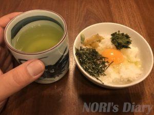 卵かけご飯朝食