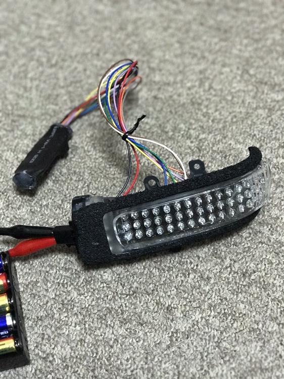 完成LEDミラーユニット