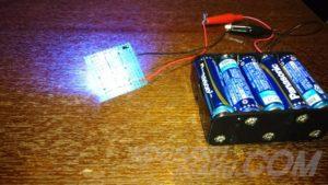 青LED基板点灯表