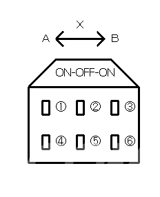 ONOFFONスイッチ回路